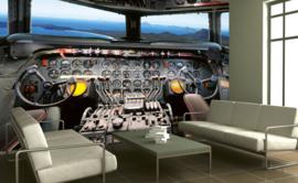 Dimex Fotobehang Cockpit View MS-5-0317 Vliegtuig/Industrieel/Tiener