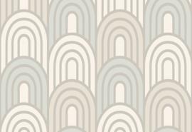 Hookedonwalls Boheme Behang BO23051 Art Deco/Modern/Grafisch/Bogen