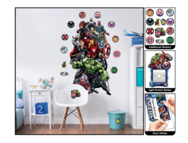 Walltastic Marvel Avengers 45491 Sticker Set - Dutch Wallcoverings