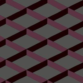 Hookedonwalls Daimon Behang DA23251 Modern/Grafisch/Lijnen/Vlakken/3D