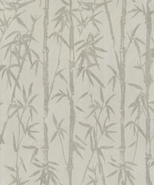 BN Wallcoverings/Voca Zen Behang 220322 Bamboo Garden/Bamboe/Takken/Bomen/Natuurlijk