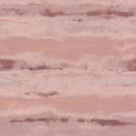 Rasch Amiata 296128 Strepen/Aquarel/Modern/Roze Behang