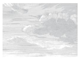 KEK Amsterdam II Fotobehang Panel WP-650 Engraved Clouds/Panels/Wolken/Natuur/Grijs
