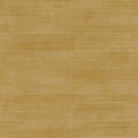 Rasch Club Behang 418491 Leer Structuur/Palingleer/Strepen/Modern/Natuurlijk/Goud