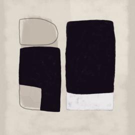 Eijffinger Bold Fotobehang 395893 Abstract/Modern/Vlakken/Naturel