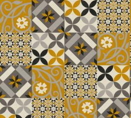 AS Creation New Life Behang 37684-1 Tegel/Mozaiek/Modern/Landelijk