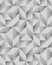 @Walls Schoner Wohnen/New Modern Behang 31843 Luce/Modern/Grafisch/Grijs/Zilver