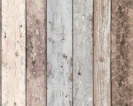 AS Creation Elements Behang 8550-39 Hout/Planken/Sloophout/Landelijk