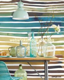 Eijffinger Stripes+ Behang 377215 Strepen/Aquastripes ochre/Fotobehang