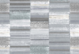 Hookedonwalls Arashi Behang 4890 Seiza/Vintage/Etnisch/Landelijk/Modern