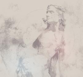 Noordwand Komar Raw Fotobehang R3-029 Eve/Beeld/Steen/Modern/Natuurlijk