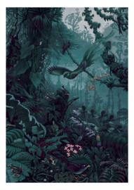 KEK Amsterdam II Fotobehang WP-711 Tropical Landscape/Landschap/Botanisch Behang