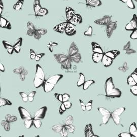 Esta Home Greenhouse Behang 143-138876 Vlinders/Dieren/Natuur