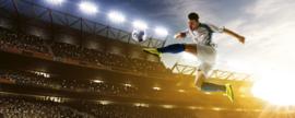 Dimex Fotobehang Soccer Player MP-2-0306 Panorama/Voetballer/Sport
