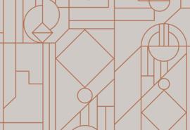 Tinted Tiles 29012 Lush/Grafisch/Modern Behang - Hookedonwalls/Arte