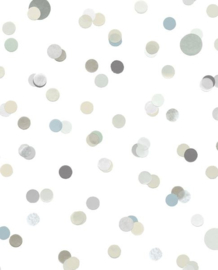 Eijffinger Mini Me Behang 399003 Stippen/Dots/Stoer/Kinderkamer