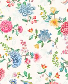 Eijffinger Pip Studio 5 Behang 300100 Bloemen/Vogels/Flowers/Kinderkamer/Romantisch/Landelijk/Ecru