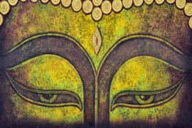 AS Creation Wallpaper 3 XXL Fotobehang 471678 XL Buddha face/Boeddha/Ogen