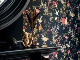 BN Wallcoverings /Voca Fiore Behang 220481 Blooming/Bloemen/Floral/Vogels/Landelijk/Klassiek