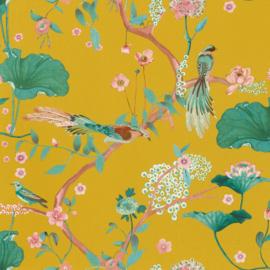 Onszelf Amazing Behang 539448 Botanisch/Bloemen/Vogels/Modern/Natuurlijk