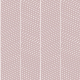 Esta Home Scandi Cool Behang 152-139107 Visgraat Motief/Modern/Landelijk