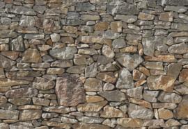 Komar Home Imagine Edition 4 Fotobehang 8-727 Stone Wall/Stenen/Natuurlijk