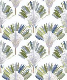 AS Creation Jungle Chic Behang 37708-1 Veren/Natuurlijk/Modern