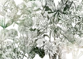 Komar Home Imagine Edition 4 Fotobehang X7-1045 Valerie/Botanisch/Bladeren