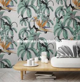 Marburg Smart Art Aspiration Fotobehang 46711 Leilani Grey/Apen/Botanisch/Bloemen