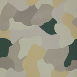 Dutch Wallcoverings Behang Dissimulo 01 Legerprint/Modern/Camouflage