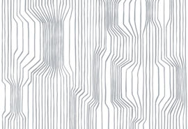 Hookedonwalls Marimekko Behang 23366 Frekvenssi/Grafisch/Modern/Lijnen