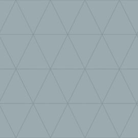 Origin City Chic Behang 353-347713 Grafisch/Modern/Lijnen/Vergrijsd Blauw