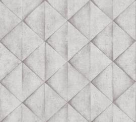 AS Creation Industrial Behang 37742-2 Modern/Driehoek/3D/Industrieel