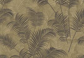 Hookedonwalls Blooming Behang BL22761 Allover Leaf/Botanisch/Bladeren/Natuurlijk/Beige