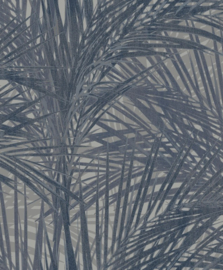 BN Wallcoverings/Voca Zen Behang 218745 Palm Lust/Botanisch/Bladeren/Natuurlijk