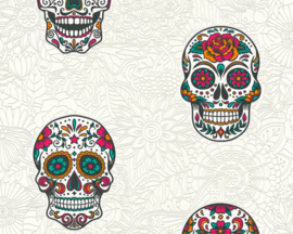 AS Creation Boys & Girls6 Behang 35817-2 Bloemen/Vlinders/Skull/Tieners
