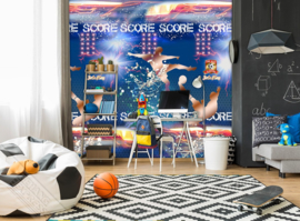 Thomas Behang  INK 7098 Voetbal/Score Fotobehang - Behangexpresse