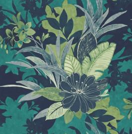 Dutch Maya First Class Behang EH72504 Botanisch/Bloemen/Tropical