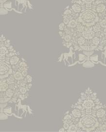 Eijffinger Pip Studio 3 Behang 341054 Pip For President Grey/Barok/Ornament/Klassiek
