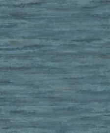 Hookedonwalls Plains & Panels Behang 11816 Structuur/Natuurlijk/Landelijk/Modern/Blauw