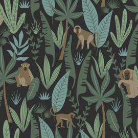 Esta Home Let's Play Behang 153-139074 Jungle/Apen/Botanisch/Bladeren