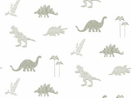 BN Wallcoverings Doodleedo Behang 220780 Dinozoo/Dinosaurus/Dieren/Kinderkamer