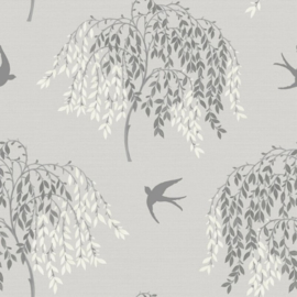 Arthouse Enchantment Behang 664700 Willow Song Grey/Bomen Grijs