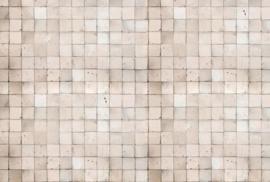 AS Creation AP Digital4 Behang DD108811 Old Tiles White/Landelijk/Vintage/Tegel Fotobehang