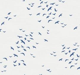 Dutch Wallcoverings Navy, Grey & White Behang BL70422 Lucht/Meeuwen/Vogels/Natuurlijk