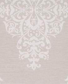 Eijffinger Charm Behang 331210 Ornament/Barok/Ecru/Zilver