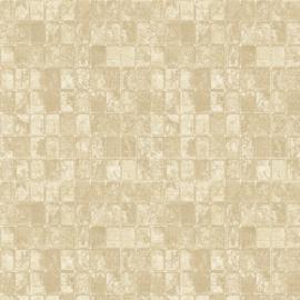 Noordwand Metallic FX/Galerie Behang W78213 Tegel/Blok/Modern/Landelijk