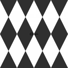 Origin Precious Behang 352-347670 Ruiten/Grafisch/Modern/Klassiek/Zwart/Wit