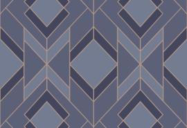HookedonwallsTinted Tiles Behang 29031 Helix/Modern/Grafisch