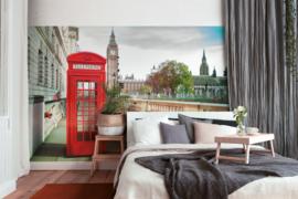 AS Creation Designwalls Fotobehang DD118686 Phone Booth/Rode Telefoon/Engeland/Travelling